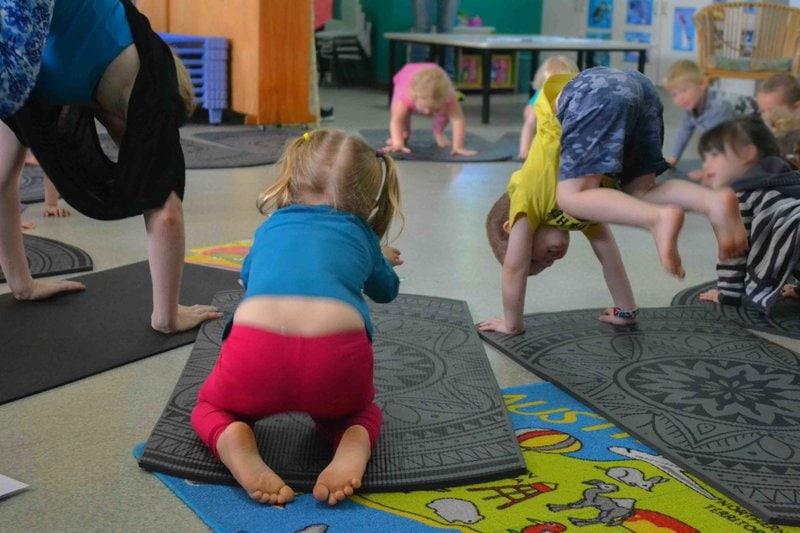 Kids Yoga classes - Sunshine Daycare Centre